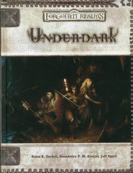 Dungeons and Dragons 3.5 ed: Forgotten Realms: Underdark - Used