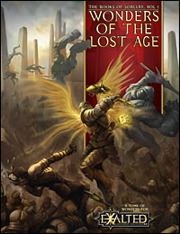 Exalted 2nd ed: Wonders of the Lost Age - Used