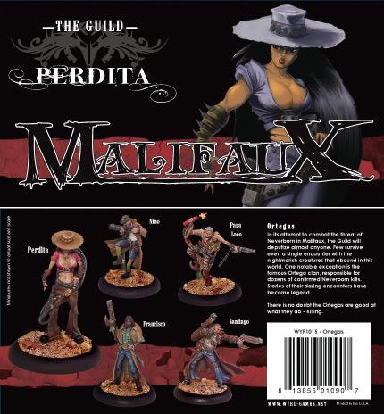 Malifaux: The Guild: Perdita Box Set - Used