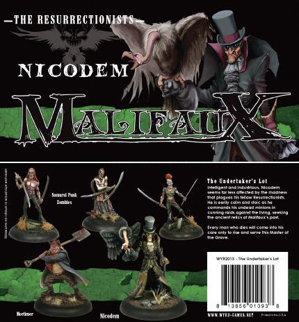 Malifaux: The Resurrectionists: Nicodem: the Undertakers Lot: 2013