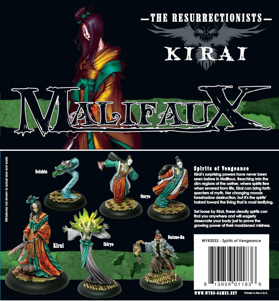 Malifaux: Spirits of Vengeance: Kirai Box Set - Used