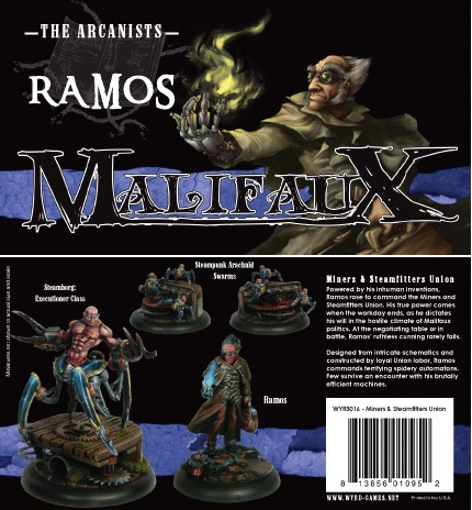 Malifaux: The Arcanists: Ramos: Miners and Steamfitters Union Box Set: 3016