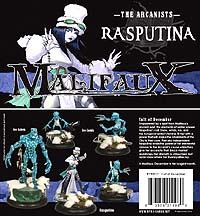 Malifaux: The Arcanists: Rasputina - Used