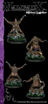 Malifaux: Neverborn: Stitched Together: 4031 - Used