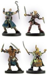 Pathfinder Beginner Box Heroes Fantasy Minis