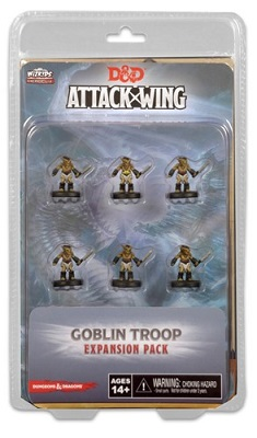 Dungeons and Dragons Attack Wing: Wave Ten Goblin Fighter Troop Expansion Pack