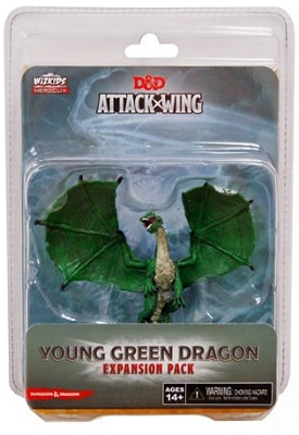 Dungeons and Dragons Attack Wing: Wave Ten Young Green Dragon Expansion Pack