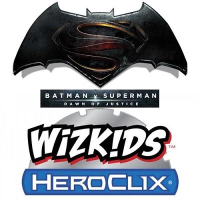 DC HeroClix: Batman Vs Superman: Dawn of Justice Movie Gravity Feed