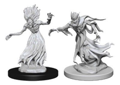 Dungeons and Dragons Nolzurs Marvelous Unpainted Minis: Wraith and Specter