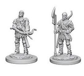 Pathfinder Deep Cuts Unpainted Minis: Town Guards