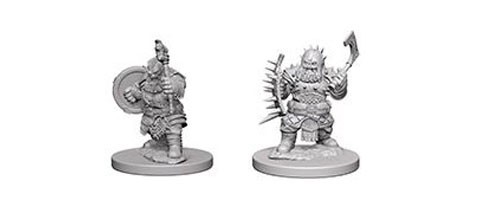 Pathfinder Deep Cuts Unpainted Minis: Dwarf Male Barbarian