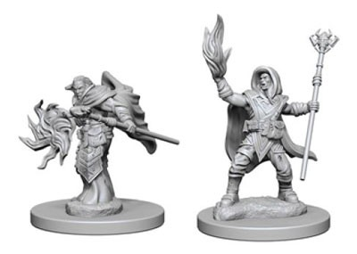 Dungeons and Dragons Nolzurs Marvelous Unpainted Minis: Elf Male Wizard