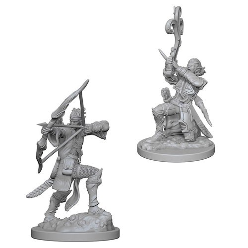 Dungeons and Dragons Nolzurs Marvelous Unpainted Minis: Elf Male Bard