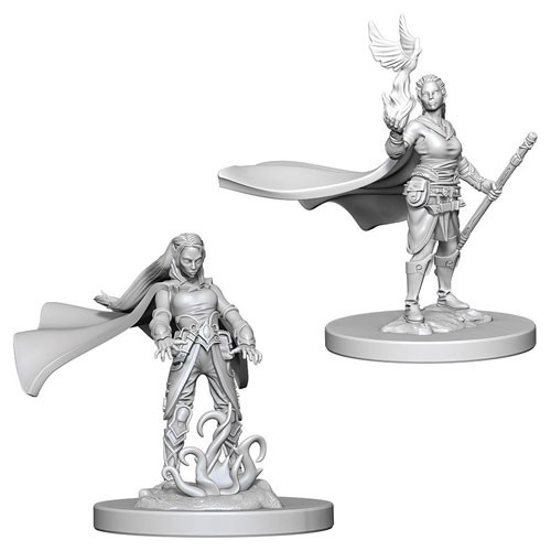 Dungeons and Dragons Nolzurs Marvelous Unpainted Minis: Elf Female Druid