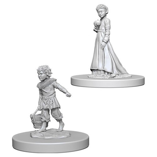 Pathfinder Deep Cuts Unpainted Minis: Children