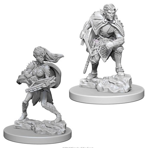 Dungeons and Dragons Nolzurs Marvelous Unpainted Minis: Drow