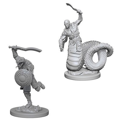 Dungeons and Dragons Nolzurs Marvelous Unpainted Minis: Yuan Ti Malisons