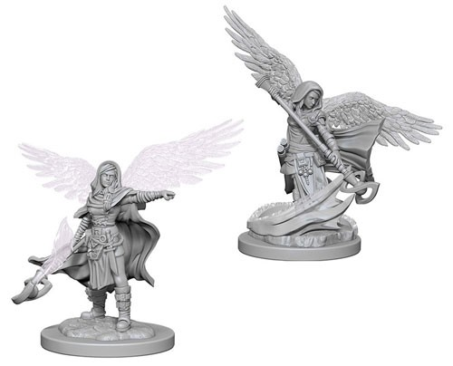 Dungeons and Dragons Nolzurs Marvelous Unpainted Minis: Aasimar Female Wizard