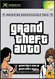 Grand Theft Auto: Double Pack (Grand Theft Auto III and Grand Theft Auto: Vice City) - XBOX