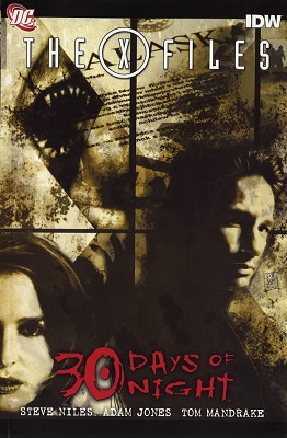 X-Files and 30 Days of Night HC
