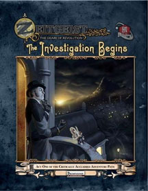 Zeitgeist: the Gears of Revolution: the Investigation Begins HC - USED