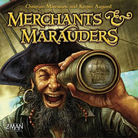Merchants and Marauders Board Game - USED - By Seller No: 6963 Ryan Shipman