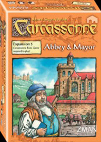 Carcassonne: Expansion 5: Abbey and Mayor