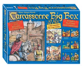 Carcassonne Big Box: Include 8 Expansions