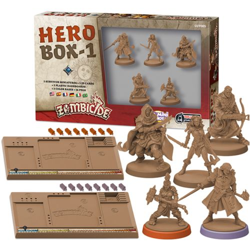 Zombicide: Black Plague: Hero Box 1