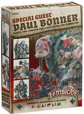 Zombicide: Black Plague: Special Guest: Paul Bonner