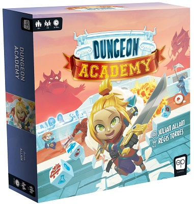 Dungeon Academy Dice Game