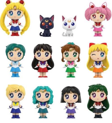 3D Collector Clip: Sailor Moon Series 2