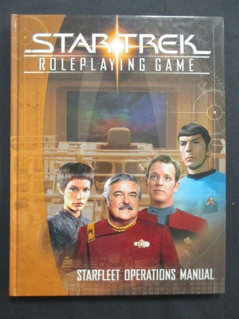 Star Trek RPG: Starfleet Operations Manual - Used