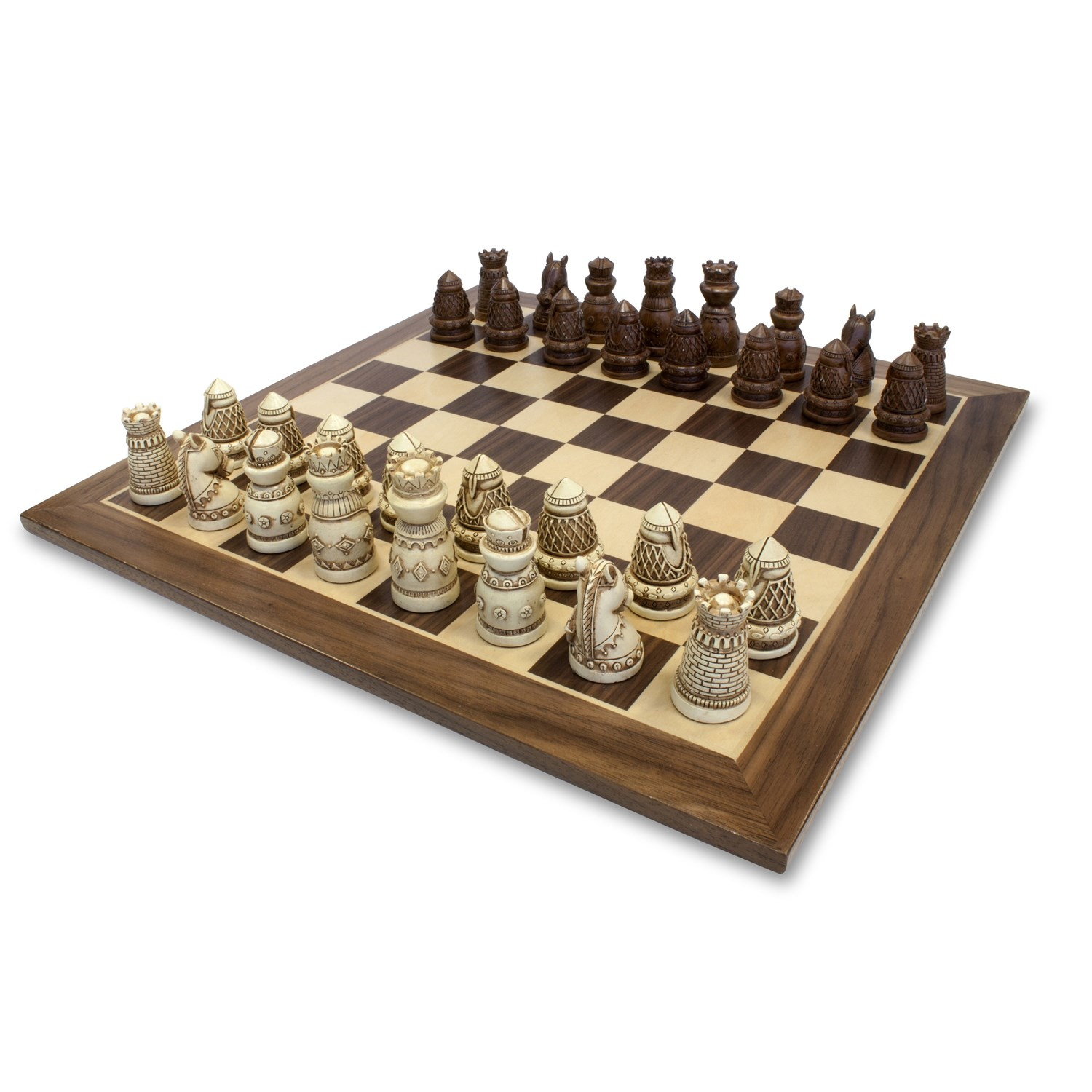 Medieval Chess Set (15 Inches)