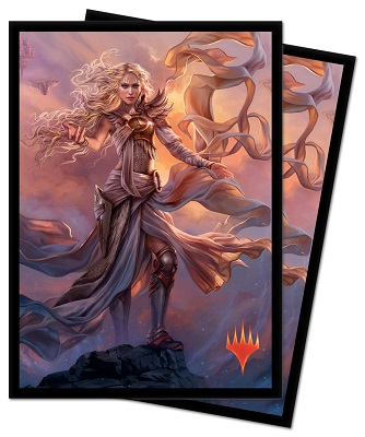 Deck Protector: Magic the Gathering: Modern Horizons: Serra the Benevolent (100 Sleeves)