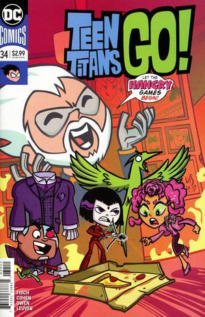Teen Titans Go no. 34 (2016 Series)