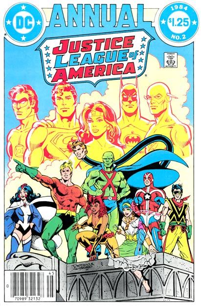 Justice League of America (1960) Annual no. 2 - Used