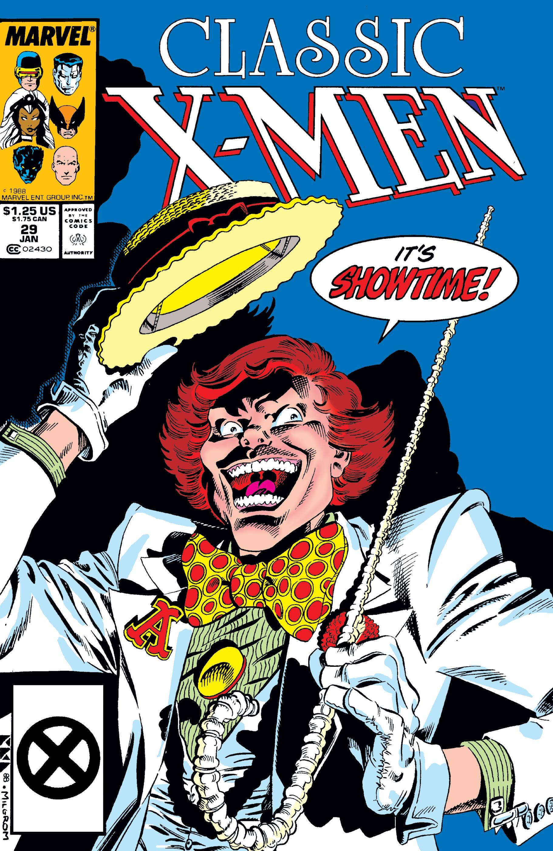 Classic X-men (1986) no. 29 - Used