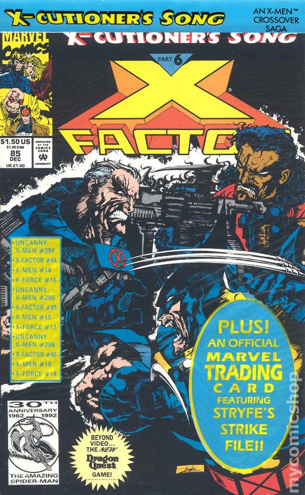 X-Factor (1986) no. 85 (Poly-bagged) - Used