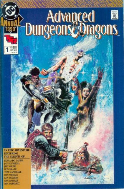 Advanced Dungeons and Dragons (1988) Annul no. 1 - Used