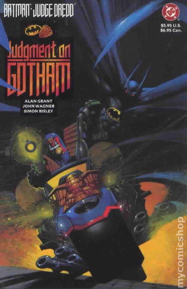 Batman and Judge Dredd: Judgement on Gotham (One Shot) - Used
