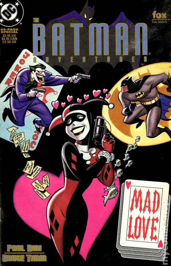 Batman Adventures (1992) Mad Love - Used
