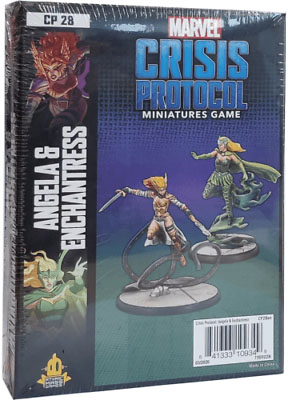 Marvel Crisis Protocol: Angela and Enchantress Character Pack