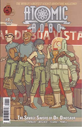 Atomic Robo: Savage Sword of Dr Dinosaur (2013) Complete Bundle - Used