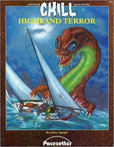 Chill Role Playin Game: Highland Terror Adventure - Used