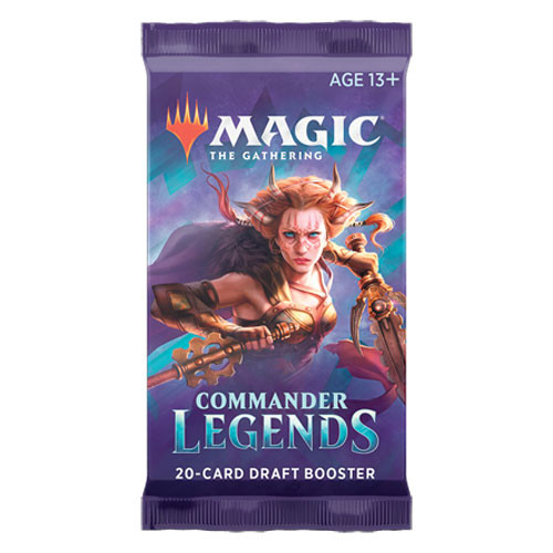 Magic the Gathering: Commander Legends: Draft Booster Pack