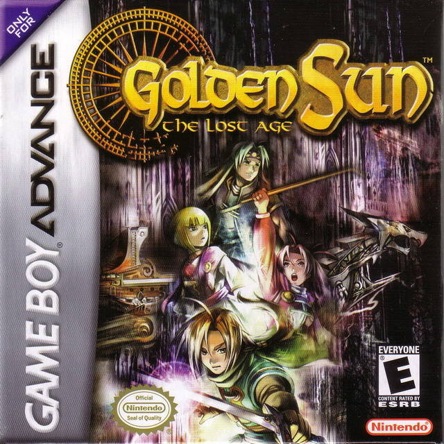Golden Sun The Lost Age - Gameboy Advance