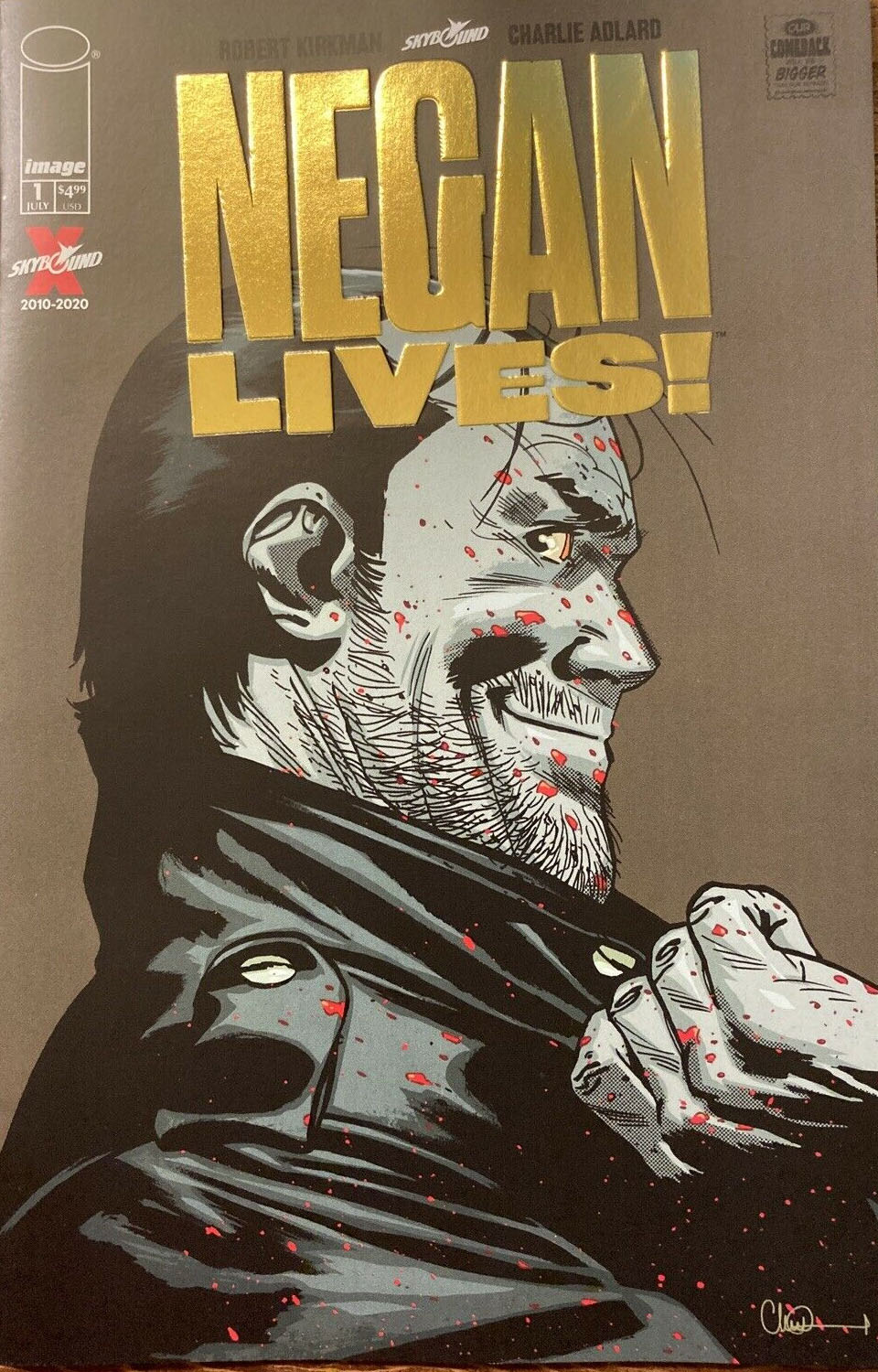 Negan Lives no. 1 (2020 Series) (Gold Variant) MR