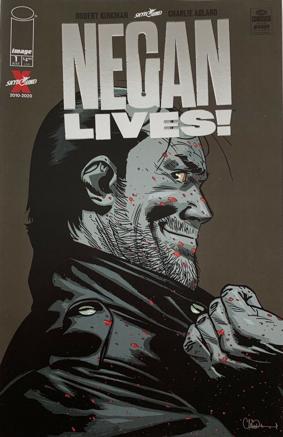 Negan Lives no. 1 (2020 Series) (Silver Variant) MR