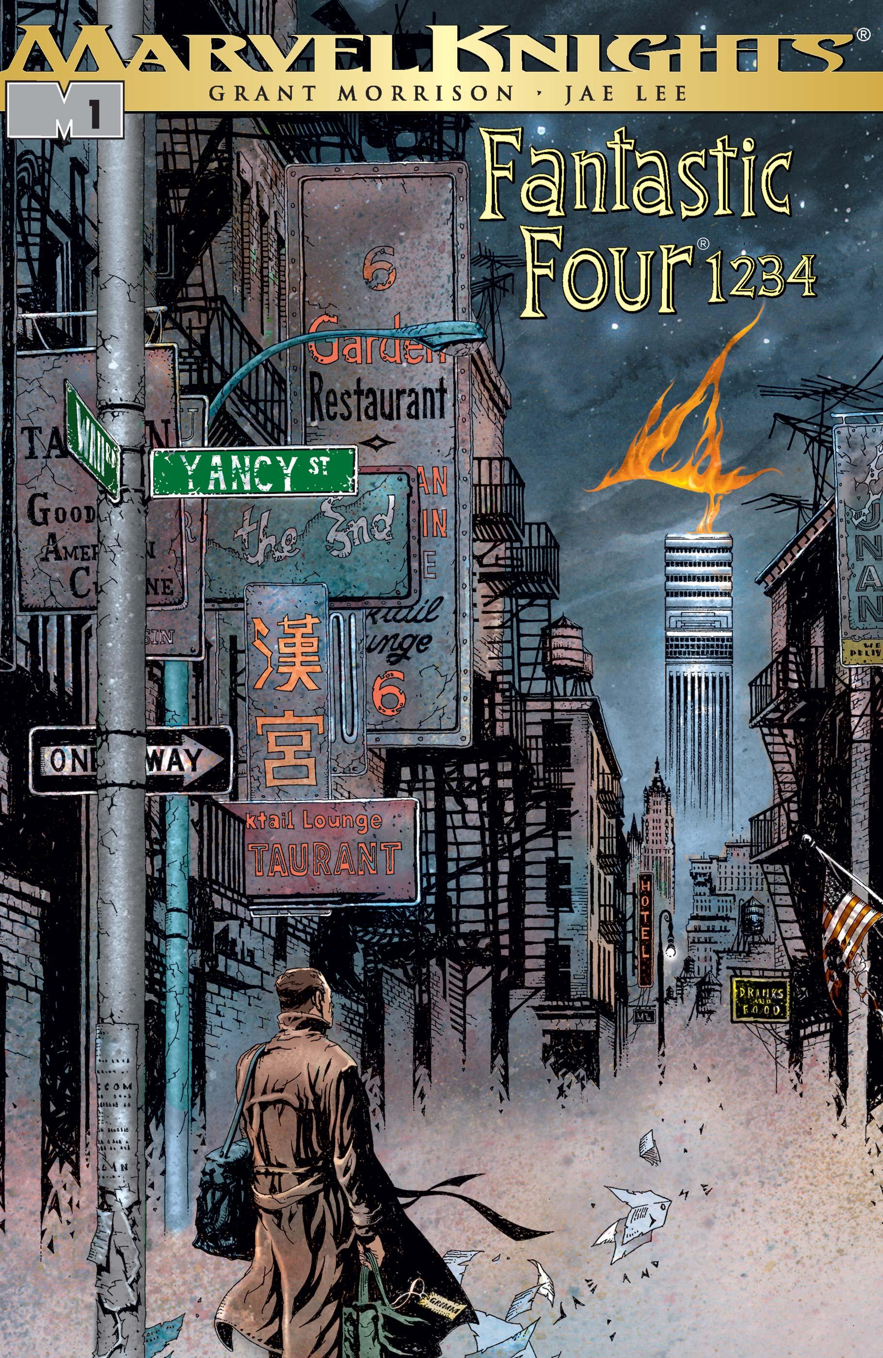 Fantastic Four 1234 (2001) Complete Bundle - Used